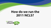 How to run the 2011 NCLS